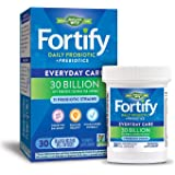 Nature's Way Fortify Daily Probiotic, 30 Billion Live Cultures, 11 Strains, Prebiotics, 30 Capsules
