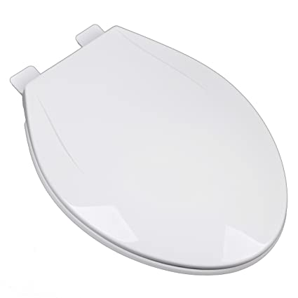 Remarkable Bath Decor 2F1E6 04 Slow Close Plastic Elongated Top Mount Adjustable Release And Clean Hinge Toilet Seat Cotton White Pdpeps Interior Chair Design Pdpepsorg