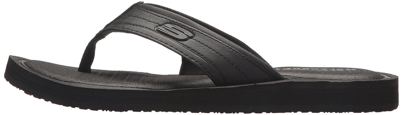 Skechers Herren Tocker Sandalen, Schwarz Schwarz Schwarz Schwarz (schwarz) de1c8c