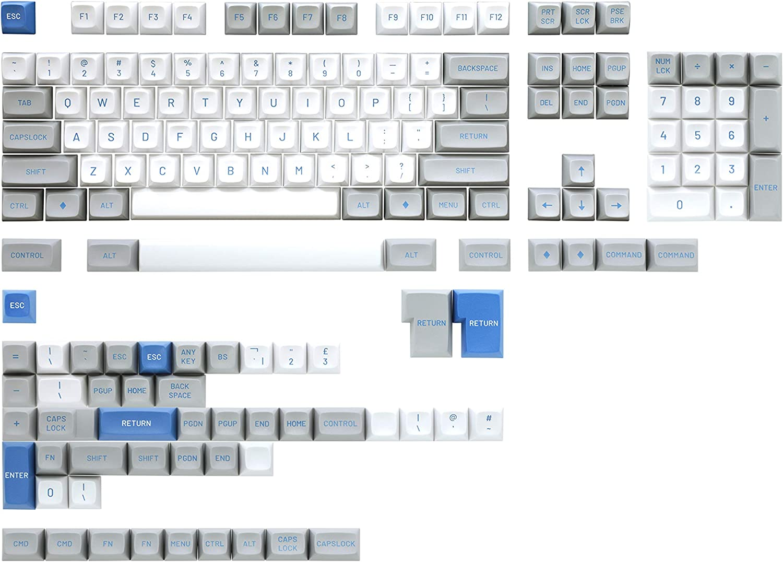 Drop MT3 Camillo Hi-Profile Doubleshot ABS Keycap Set - Base Kit