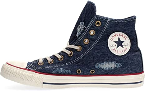 Converse chuck taylor all star sneakers basse bluegarnet