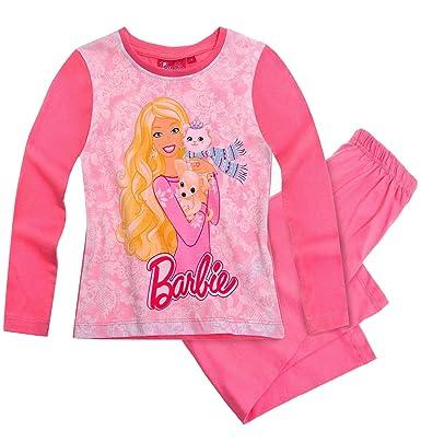fc35d6cadd Official Barbie - Pijama - para niña Rosa rosa 2 años  Amazon.es  Ropa y  accesorios