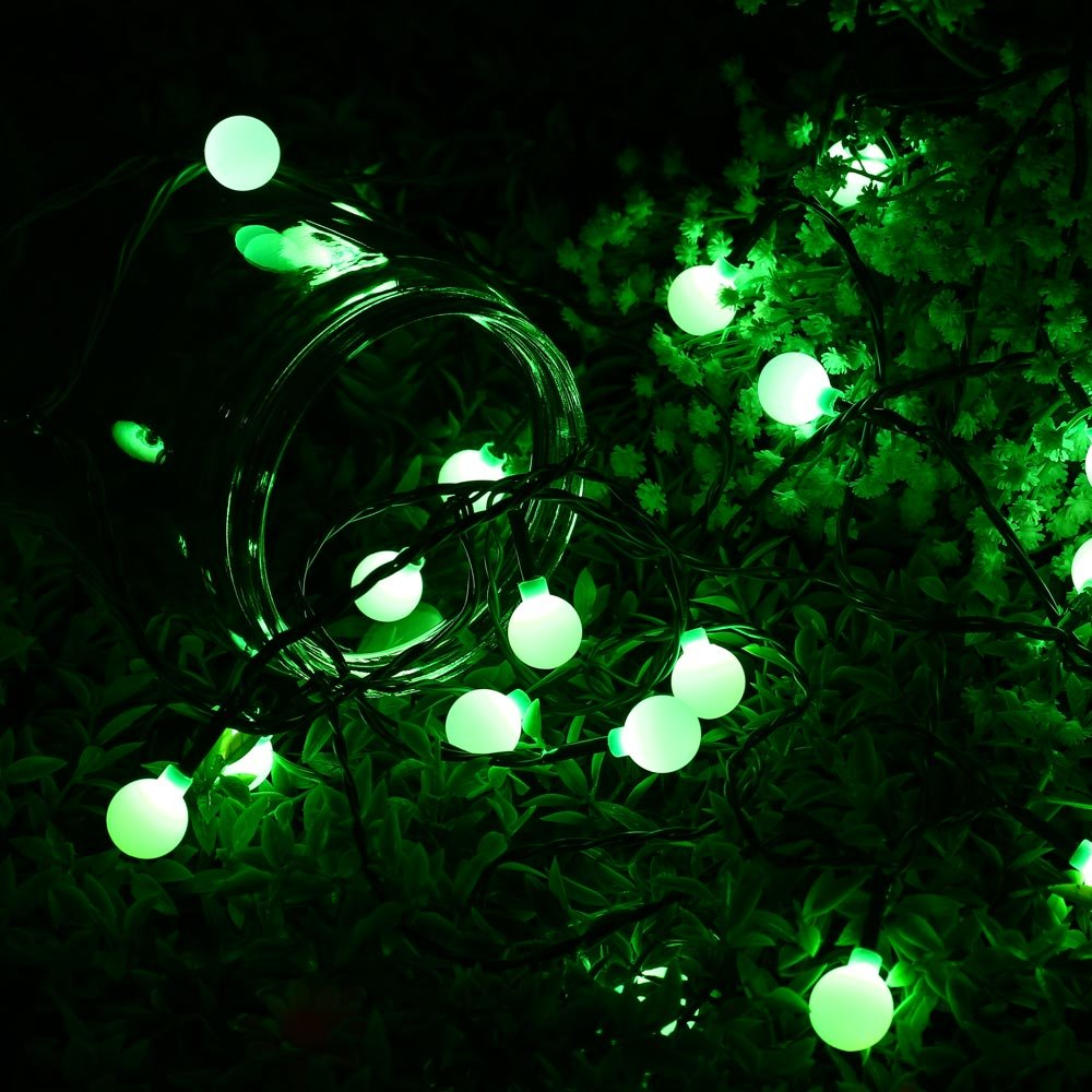 Amazon.com : WOOTOP Christmas Lights, 90 LED 65.6ft RGB Globe String ...