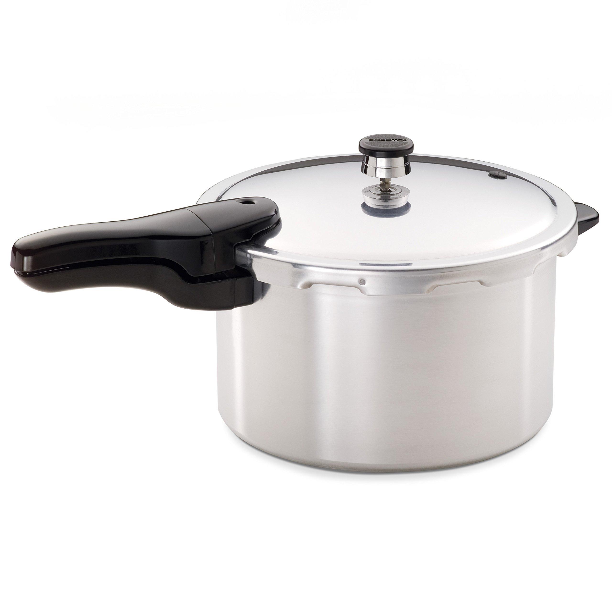 Presto 01282 8-Quart Aluminum Pressure Cooker (Renewed) by Presto