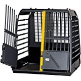 4x4 North America MIM Safe VarioCage Double - Crash Tested Dog Transport Kennel, Adjustable