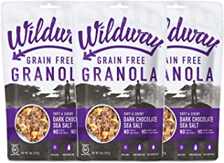 product image for Wildway Vegan, Gluten-free, Grain-free Granola - Dark Chocolate Sea Salt - 8oz, 3-pack
