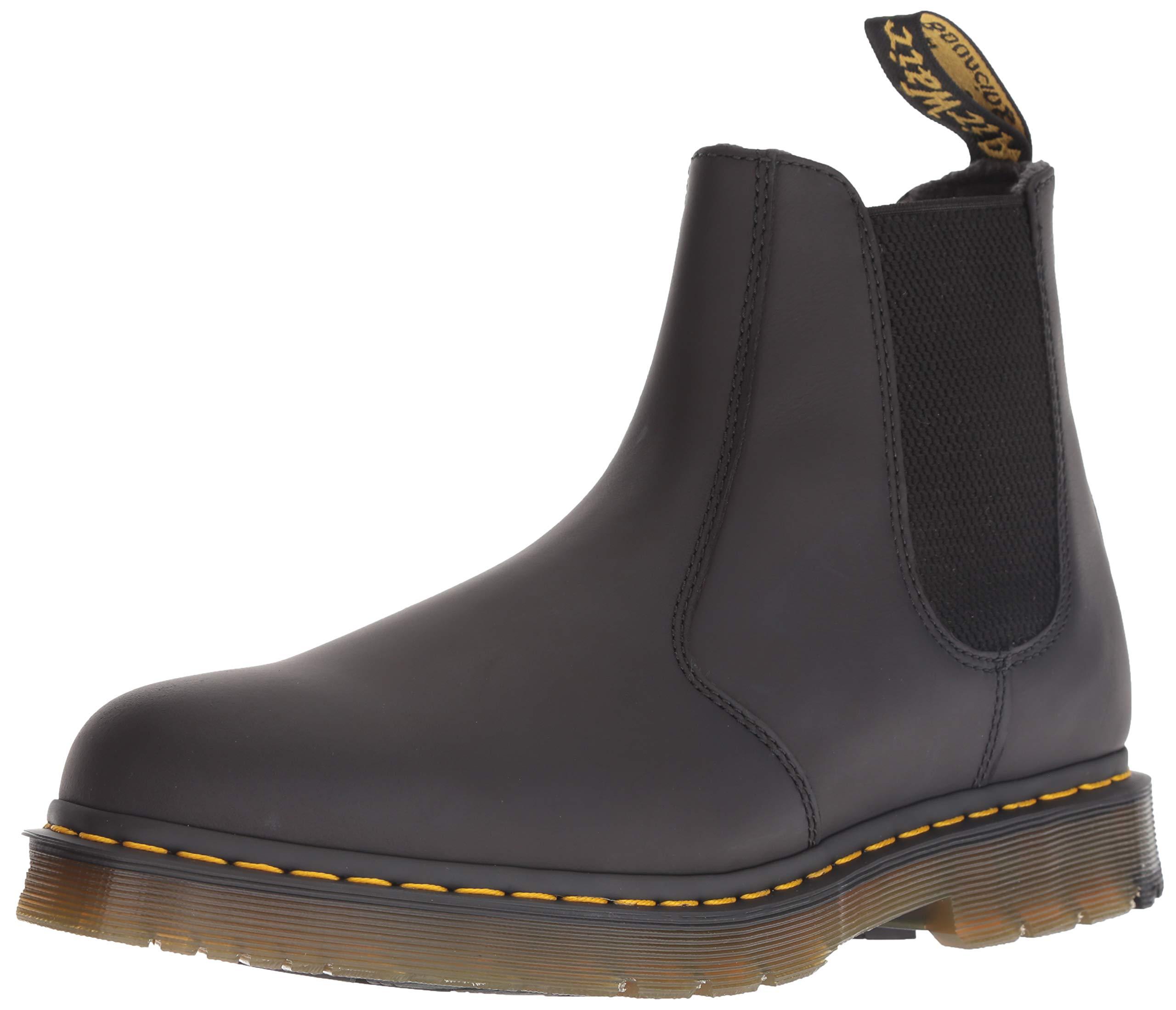 Dr. Martens Men's 2976 Snow Boot, Black, 6 Medium UK (7 US)