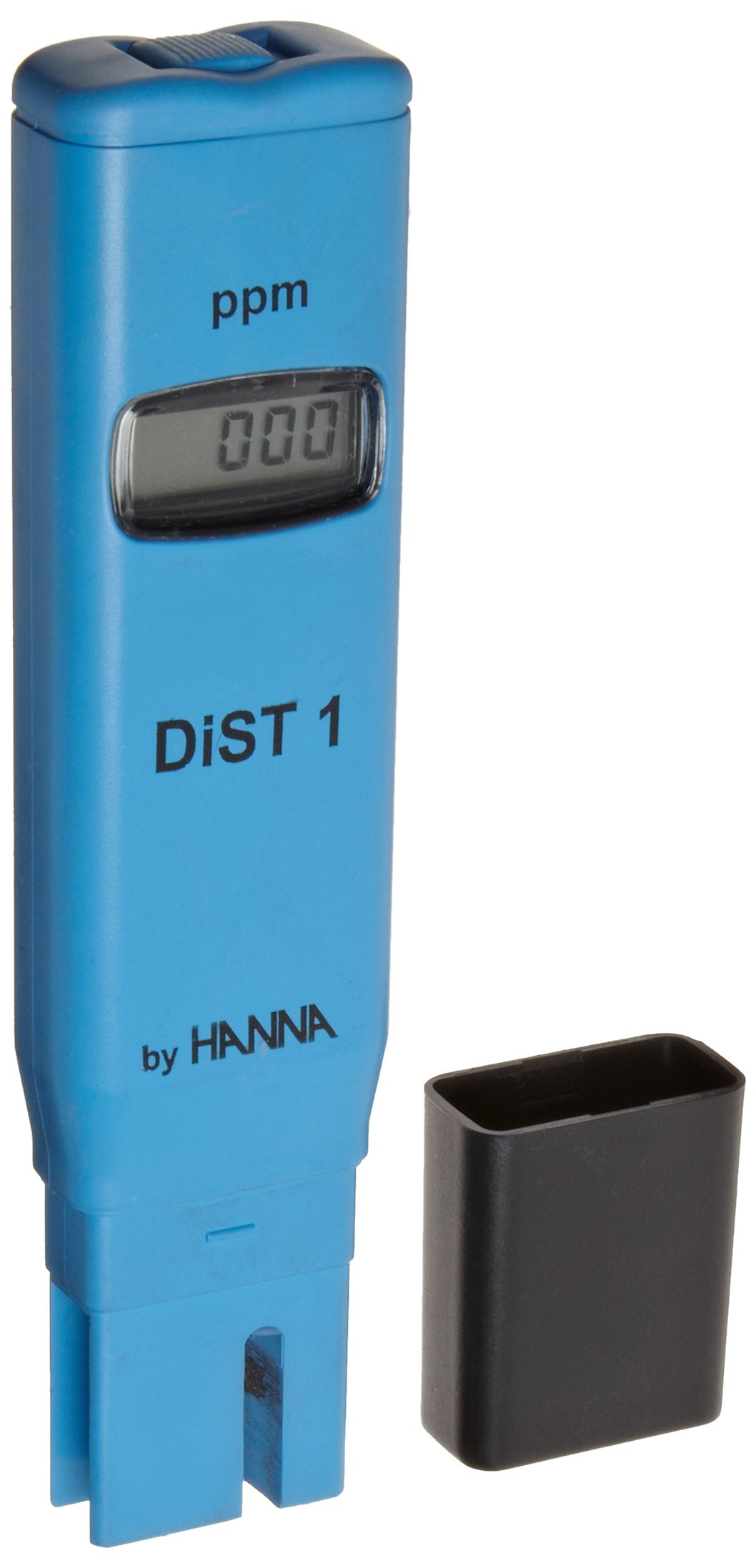 Hanna Instruments HI98301 DiST1 EC and TDS Tester, 0.5 TDS Factor, 1999 mg/L (ppm), 1 mg/L (ppm) Resolution, +/-2% Accuracy
