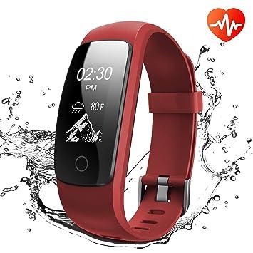 Montre Connectée, Runme Tracker dActivité avec Cardiofréquencemètre and Surveillance de Sommeil, Montre