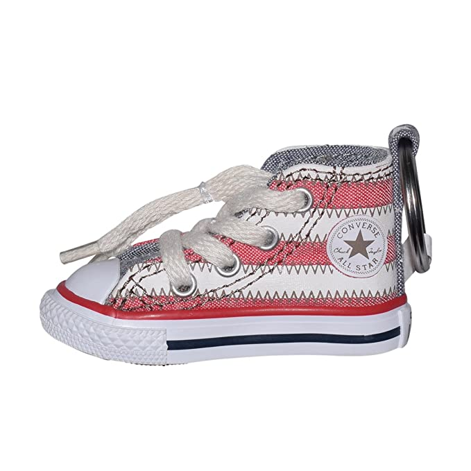 c42959537571 Amazon.com  Converse ALL STAR Key Chain (American Flag Stripe)  Clothing