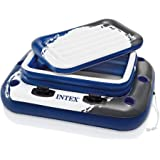 Intex Blue/White Plastic Inflatable Floating Ice Chest
