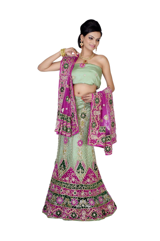 Aashima Fab Store Indian Lehenga Choli For Women Party Wear SkyBlue Designer Traditional