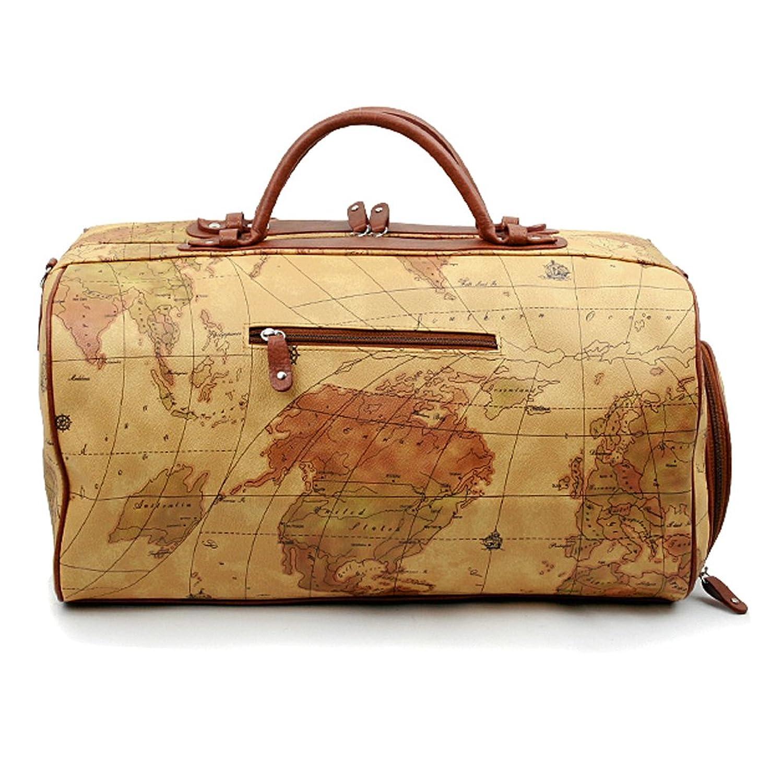 Amazon noonday world map large duffle bag travel tote luggage amazon noonday world map large duffle bag travel tote luggage boston style travel duffels gumiabroncs Choice Image
