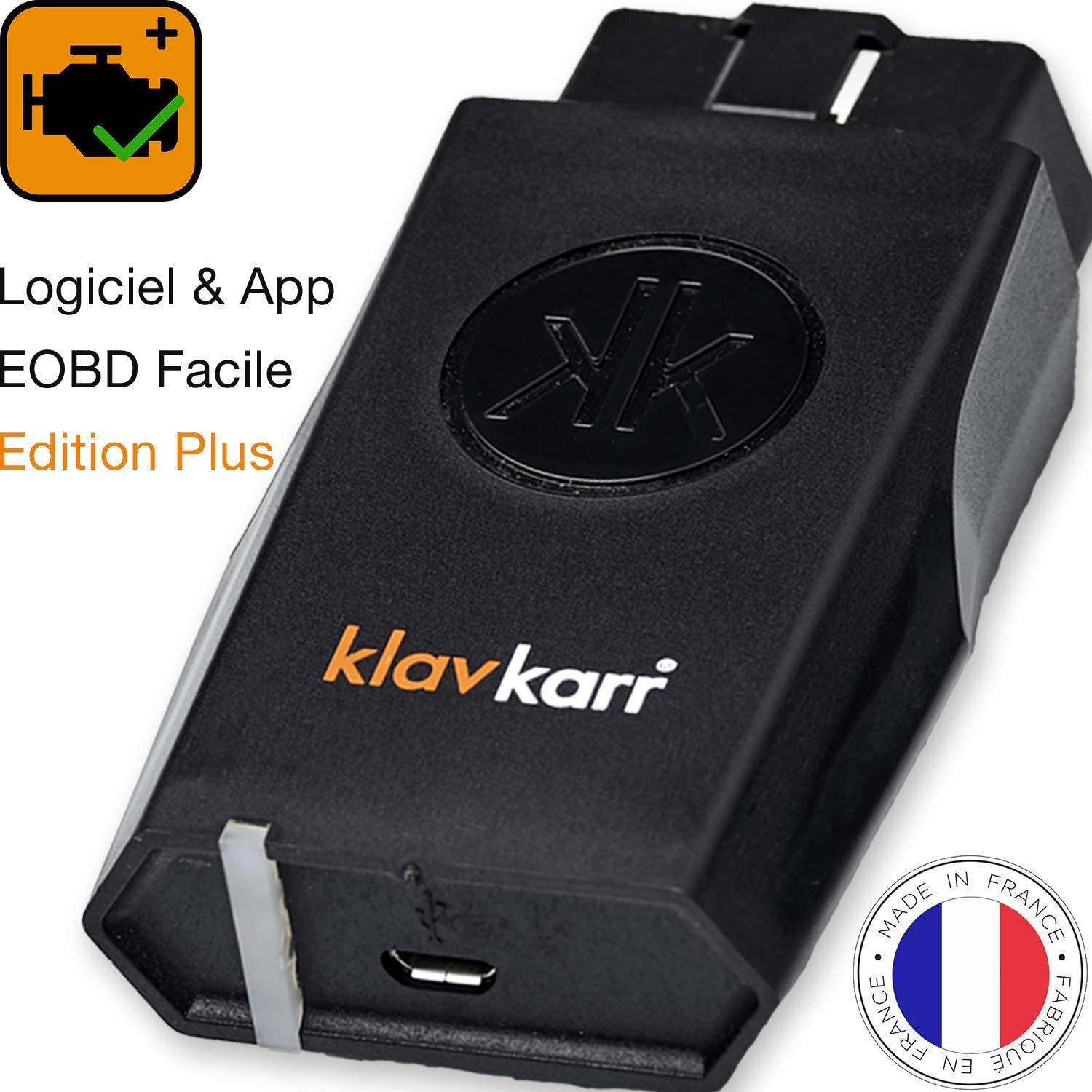 Klavkarr 210 Obd2 Diagnostic Tool For All Car Brands In German Obd Plug For Error Memory Bluetooth Adapter For Iphone Android Auto