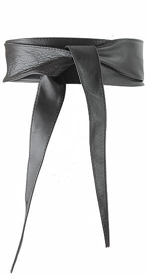 FASHIONGEN - Ceinture Obi véritable cuir dItalie CASSIANE 2d9ff1146cd