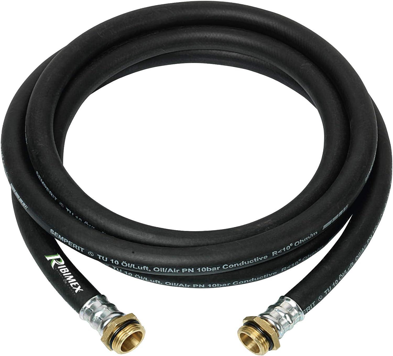 conectores Tubo gas/óleo de goma 4/m