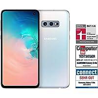 Samsung Galaxy S10e Smartphone (14.7cm (5.8 Zoll) 128GB interner Speicher, 6GB RAM, Dual SIM, Prism White) Deutsche Version