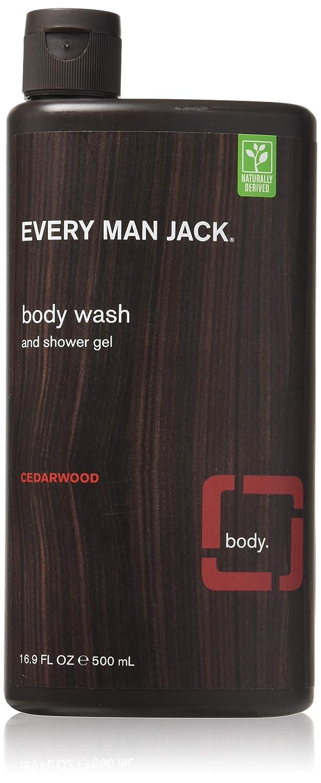 Every Man Jack Body Wash 16.9oz Cedarwood (2 Pack)