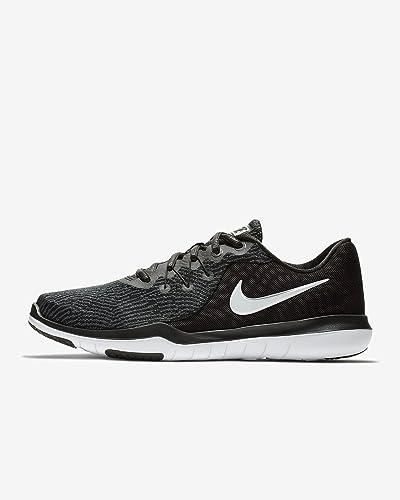 new product 1f5e4 09a79 Nike Women s Flex Supreme TR 6 Training Shoe (6 M US, Rubber, Black