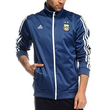 adidas Performance para Hombre Chaqueta de chándal de fútbol de Argentina, Marino: Amazon.es: Deportes y aire libre