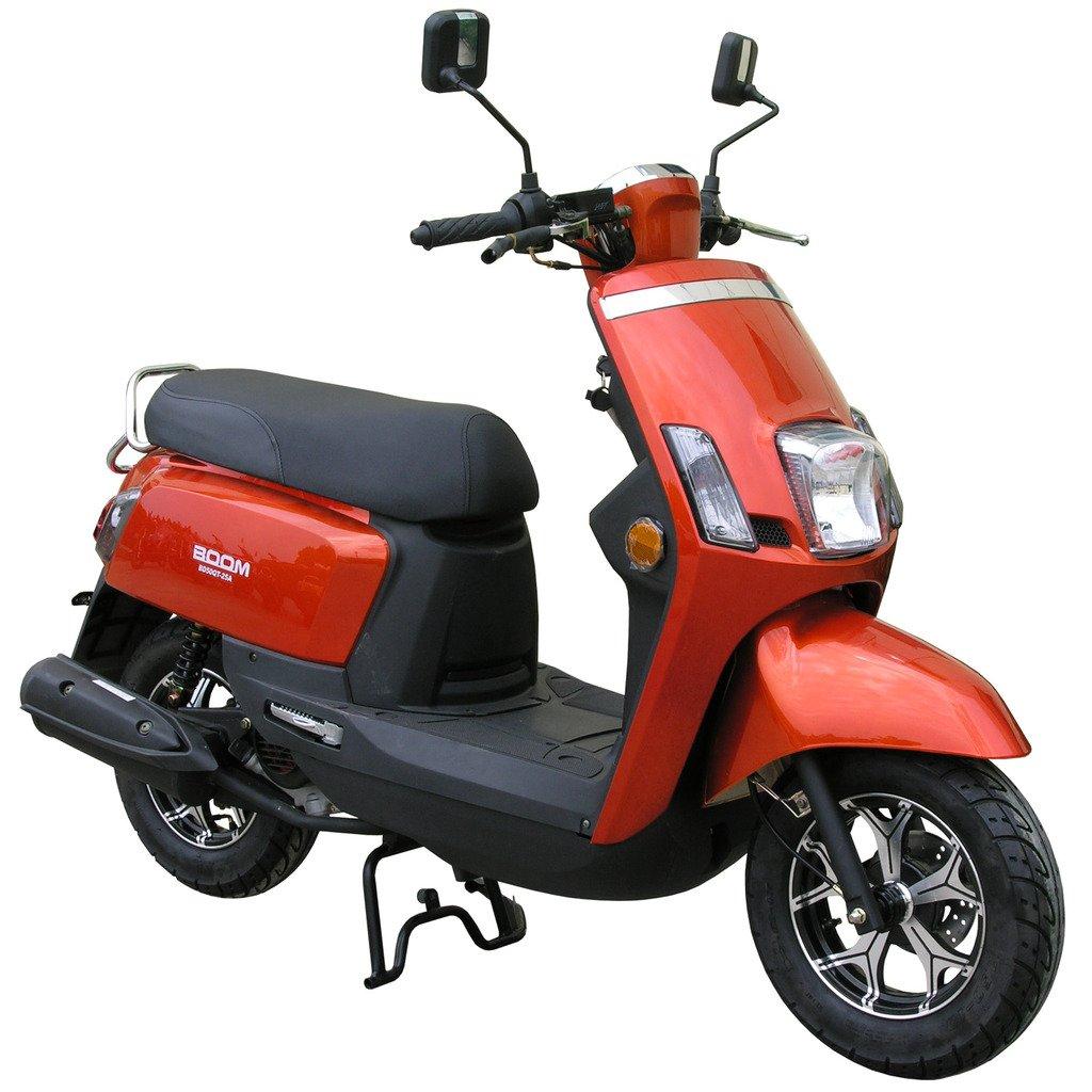 CRT Boom 50 cc gasolina Moped/patinete bd50qt-25 a 10 ...