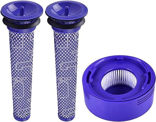 xy - Filtros Lavables de Repuesto compatibles con aspiradora Dyson ...