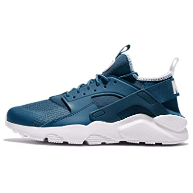 nike huarache mens blue and grey