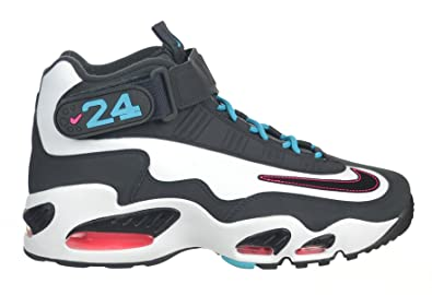best sneakers be4ee 71875 Nike Air Griffey Max 1 quot Homerun Derby Men s Shoes Black White Turquoise  Blue