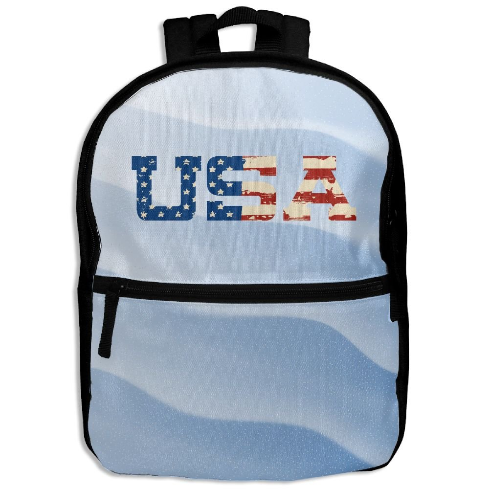 cf56c1259b on sale USA Pink School Backpack Travel Bags Bookbag For Kids ...