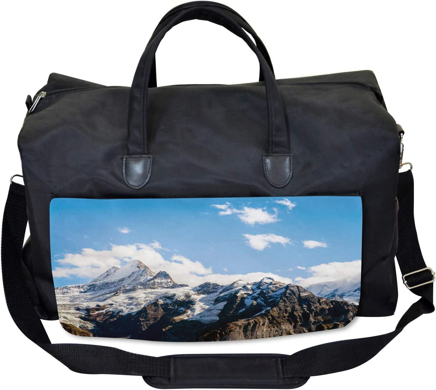 Mountain Natural Beauty Ambesonne Nature Gym Bag Large Weekender Carry-on