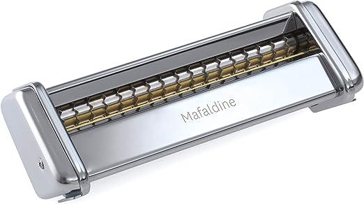 Marcato Accesorio Mafaldine Máquina para Pasta, aleación, Plata, 8 X 17.7 X 4.5 Cm: Amazon.es