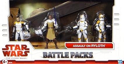 Star Wars Clone Wars paquete de batalla exclusivo de asalto en Ryloth: Amazon.es: Juguetes y juegos
