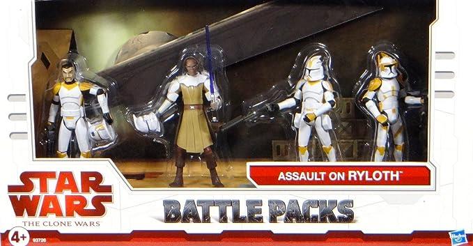 Star Wars Clone Wars paquete de batalla exclusivo de asalto en ...