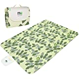 MIU COLOR reg; Durable Outdoor Camping Picnic Blanket with Handles, Moisture-proof, Water-proof and Sand-proof, Foldable Blanket…