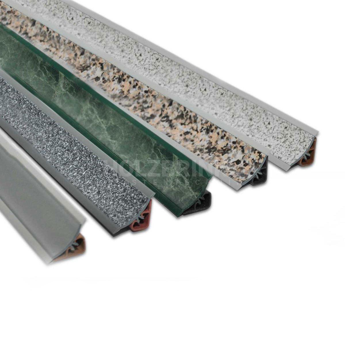 Küchenleisten für arbeitsplatte  250cm Küchenabschlussleiste Küchenleiste Wandabschlussleiste ...