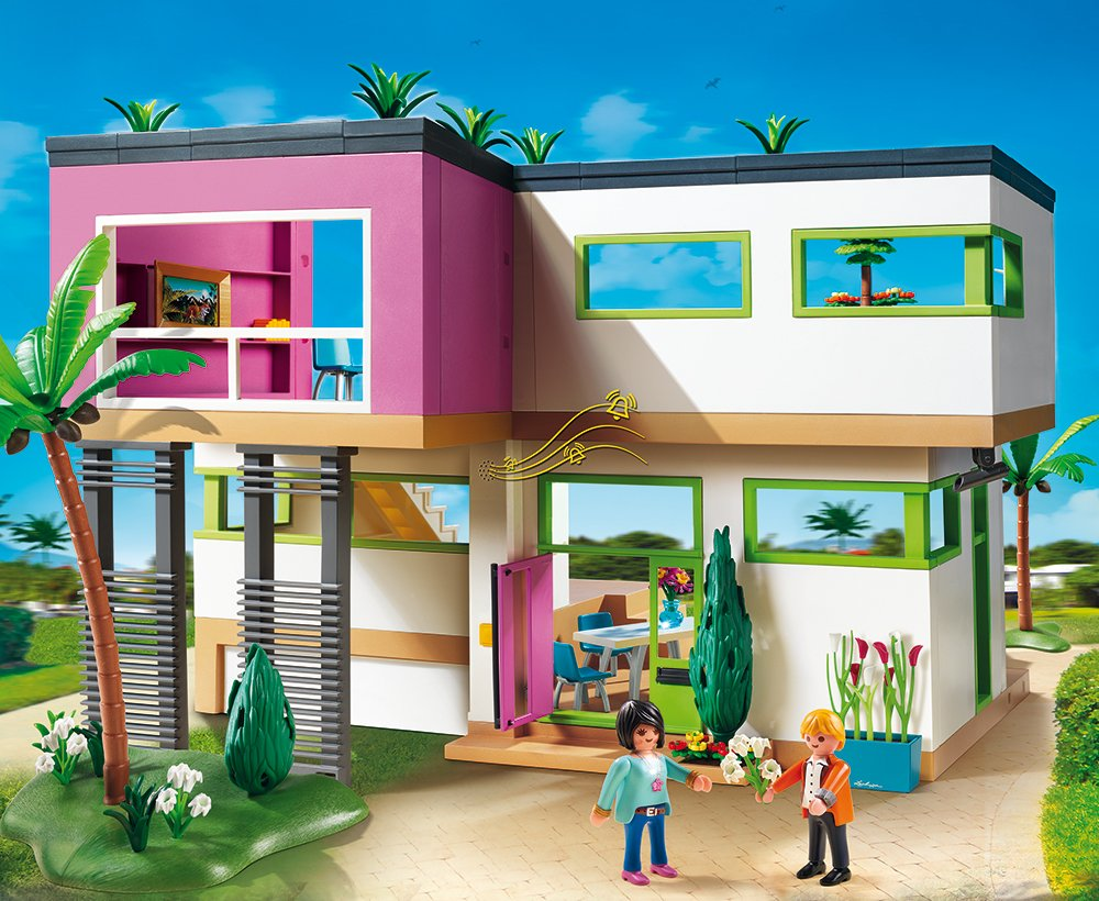Moderne luxusvilla kaufen  Amazon.de:PLAYMOBIL 5574 - Luxusvilla City Life