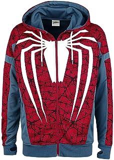 Spiderman T-Shirt Marvel Spider-Man Big Spidey Logo Homme  Amazon.fr ... 9df5b3d91a96