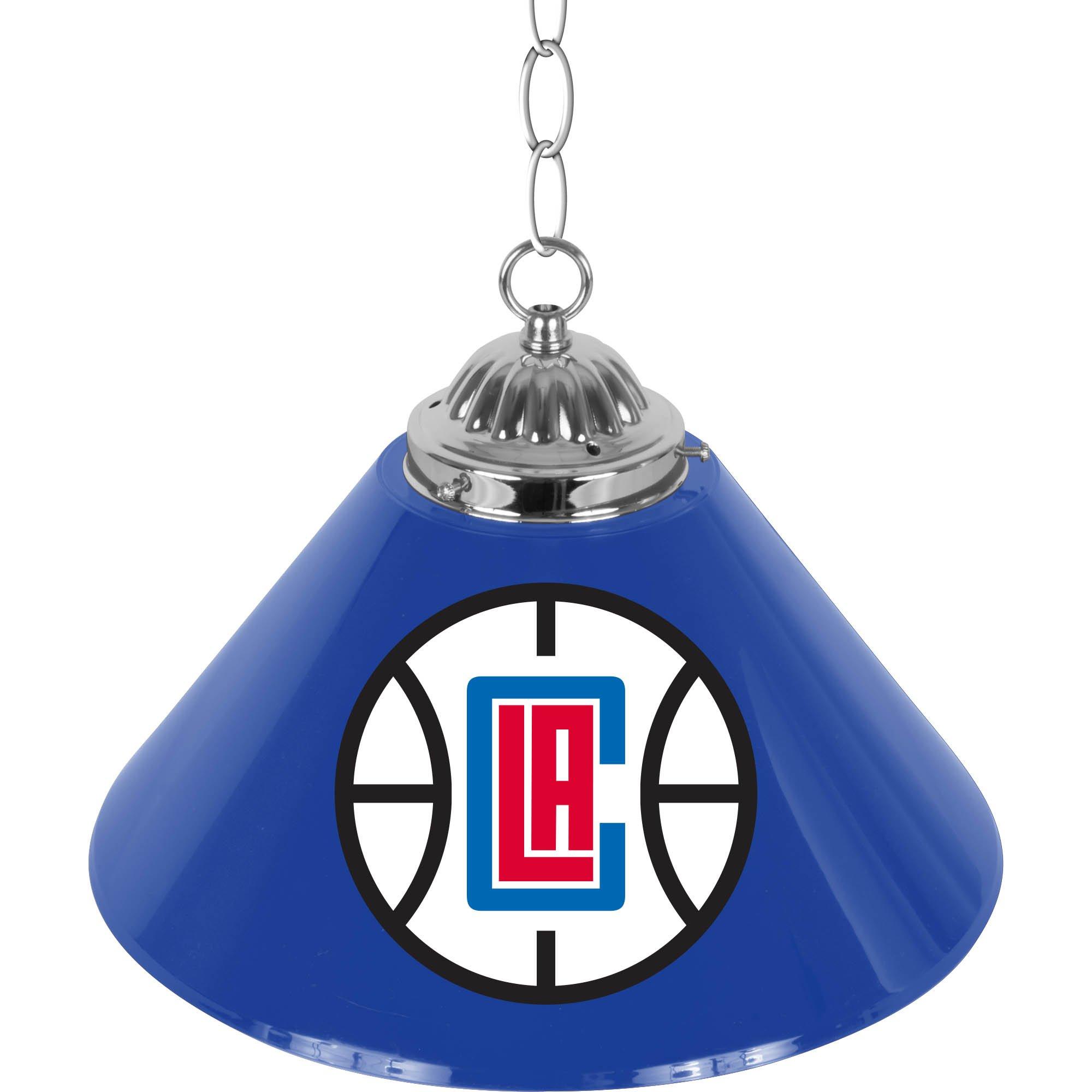NBA Los Angeles Clippers Single Shade Gameroom Lamp, 14'' by Trademark Gameroom