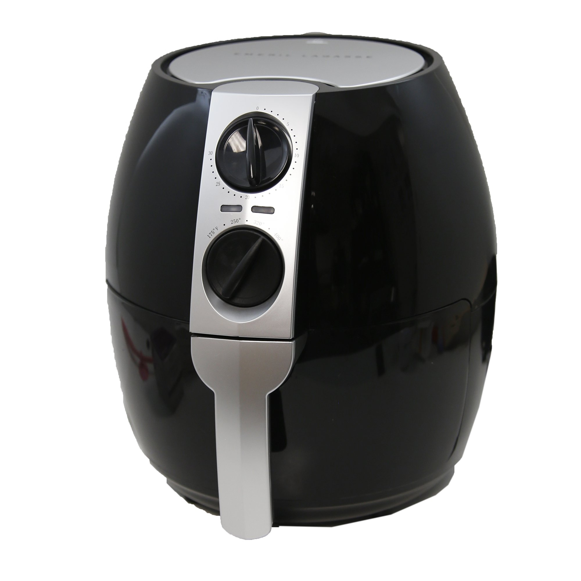 Emeril 3.75-qt Rapid Air Fryer w/2-in-1 Basket & Accessories -Black
