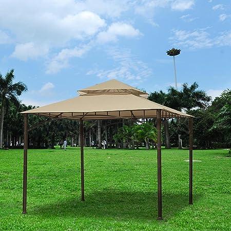 10.6x10.6/' Gazebo Top Cover Outdoor Canopy Replacement For Madaga Gazebo Frame