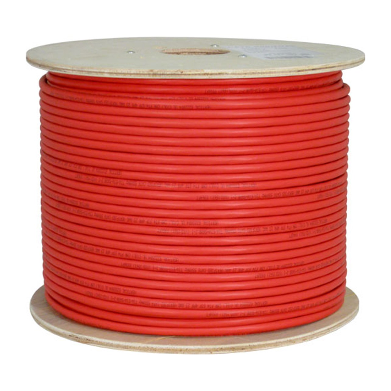 Vertical Cable Cat6a 10g Stp 23awg Solid Bare Copper Electrical Wire And Pvc 1000ft Red Bulk Ethernet Computers Accessories