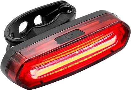 Feu Arrière Pour Velo Rechargeable Par USB Eclairage VTT Lampe