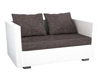 """VCM """"sinsa 2 plazas Polipiel/sofá/sofá con función Saco de Dormir"""