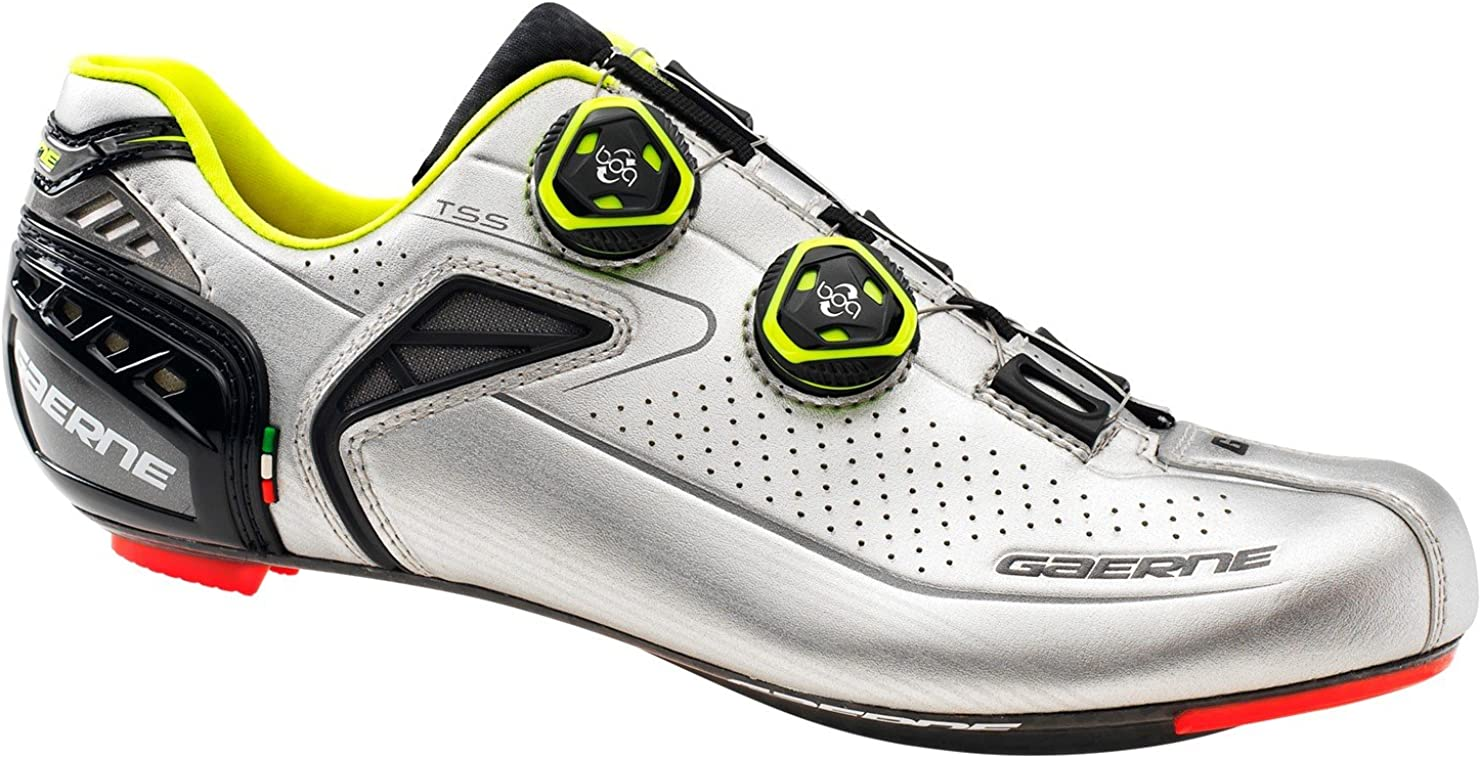 Zapatillas Ciclismo Gaerne Carbon G.Chrono 2017-18 (44): Amazon.es ...