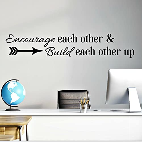 Amazoncom Encourage Each Other Build Each Other Up Teamwork - How do i put up a wall sticker