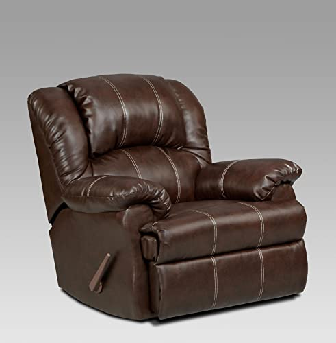 Chelsea Home Furniture Ambrose Chaise Rocker Recliner, Brandon Brown