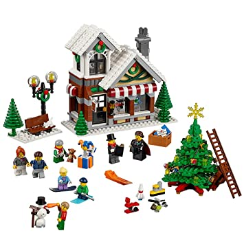 Amazon.com: LEGO Creator Expert Winter Toy Shop: Toys & Games
