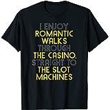 Funny Gambling Shirt Slot Machine Vegas Casino Women Men