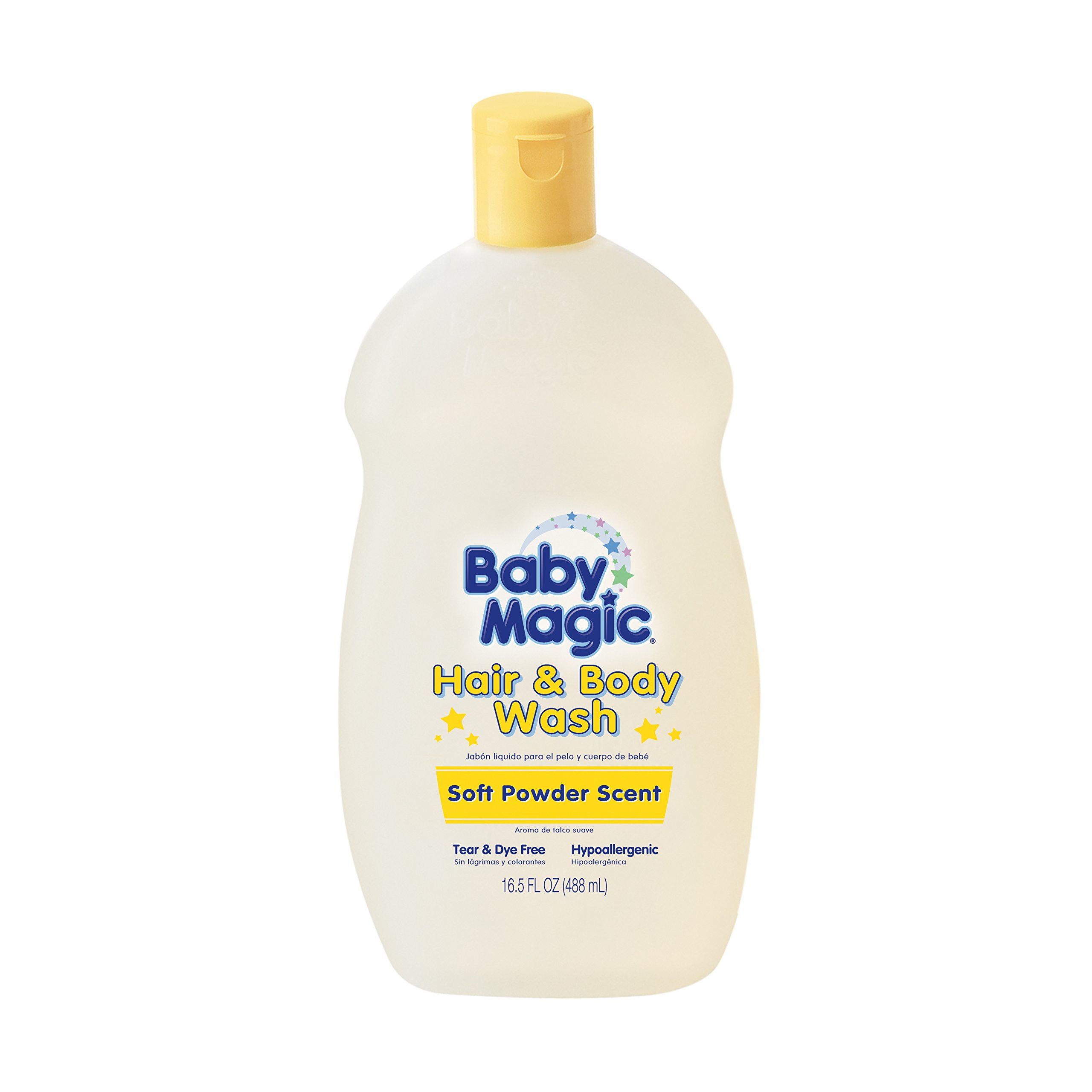 Baby Magic Hair and Body Wash, Soft Powder Scent, 16.5 Ounces (Pack of 6) by Baby Magic