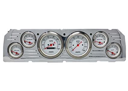 Incredible Amazon Com Dolphin Gauges 1964 1965 1966 Chevy Truck 6 Gauge Dash Wiring 101 Akebretraxxcnl